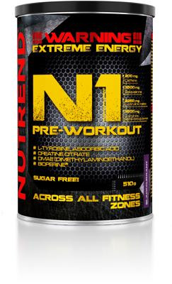 Nutrend N1 Pre-Workout, 510 g Dose