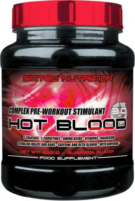Scitec Nutrition Hot Blood 3.0, 820 g Dose