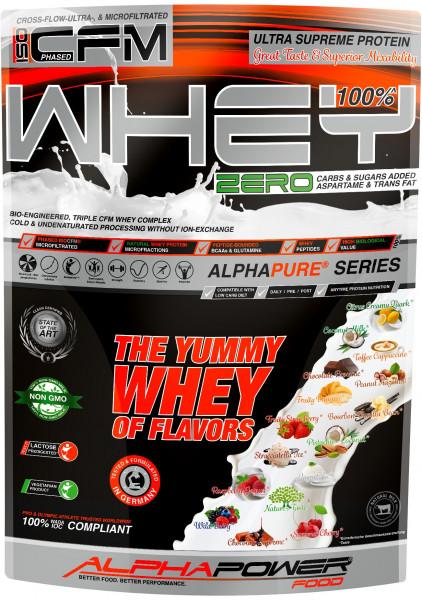 ALPHAPOWER FOOD: CFM 100% Whey Protein TRIPLE CFM WHEY COMPLEX 1000 g