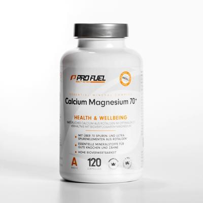 ProFuel - CALCIUM & MAGNESIUM 70+, 120 Kaps.