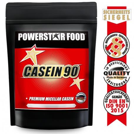 Powerstarfood CASEIN 90 - Mizellares Casein Protein - 1000 g