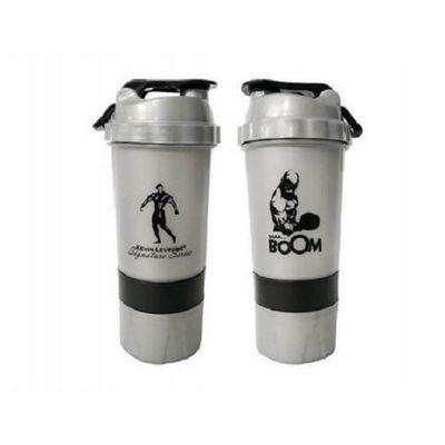 Kevin Levrone Shaker 500 ml Silver/Black