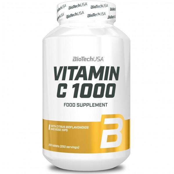 BioTech - VITAMIN C 1000, 250 Tabl