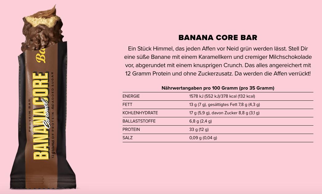 core-bars-werte
