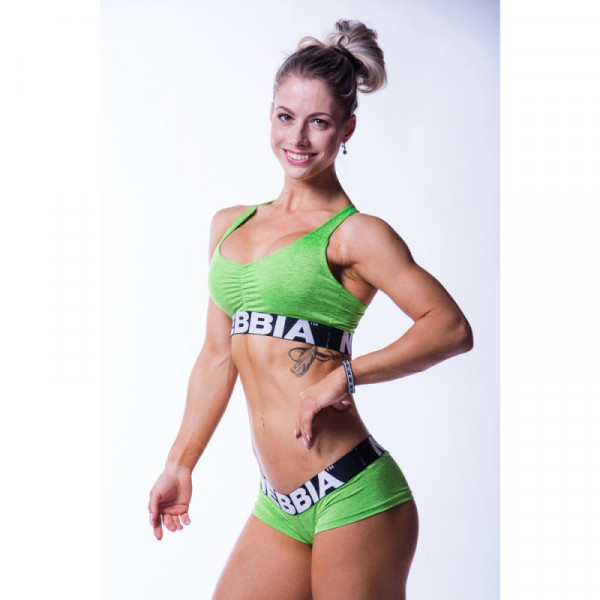 NEBBIA - Hotpants 225 Green