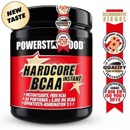 Powerstarfood HARDCORE BCAA INSTANT - BCAA Pulver - 500 g